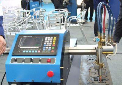 ប្រភេទម៉ាស៊ីនច្រេះចង្កាទ្វេដោយម៉ាស៊ីន CNC Flame Plasma Plasma Cutting Machine នៅក្នុងការលក់